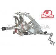 Racing Boy Adjustable Front Footrests/Rearsets - Yamaha T150