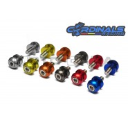 Cardinals Racing Swingarm Slider Spools - 8mm