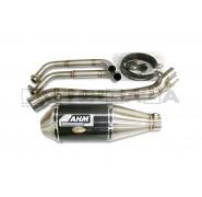 AHM RC Full Exhaust - Kawasaki Ninja 250R/Z250 (CF/Alu)