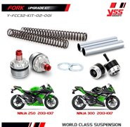 YSS Front Suspension Upgrade Kit - Kawasaki Ninja 250R/ Z250