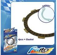 Faito Racing Clutch Plates - Honda Cub C100/ Wave 100