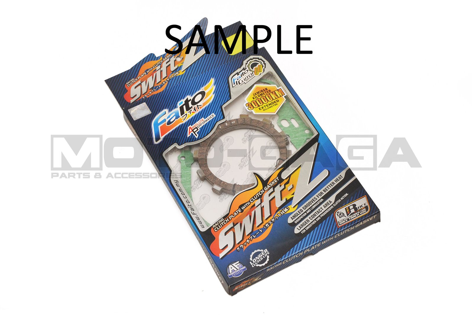 Faito Racing Clutch Plates - Honda Wave 125