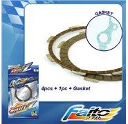 Faito Racing Clutch Plates - Yamaha T135 (5 Speed)