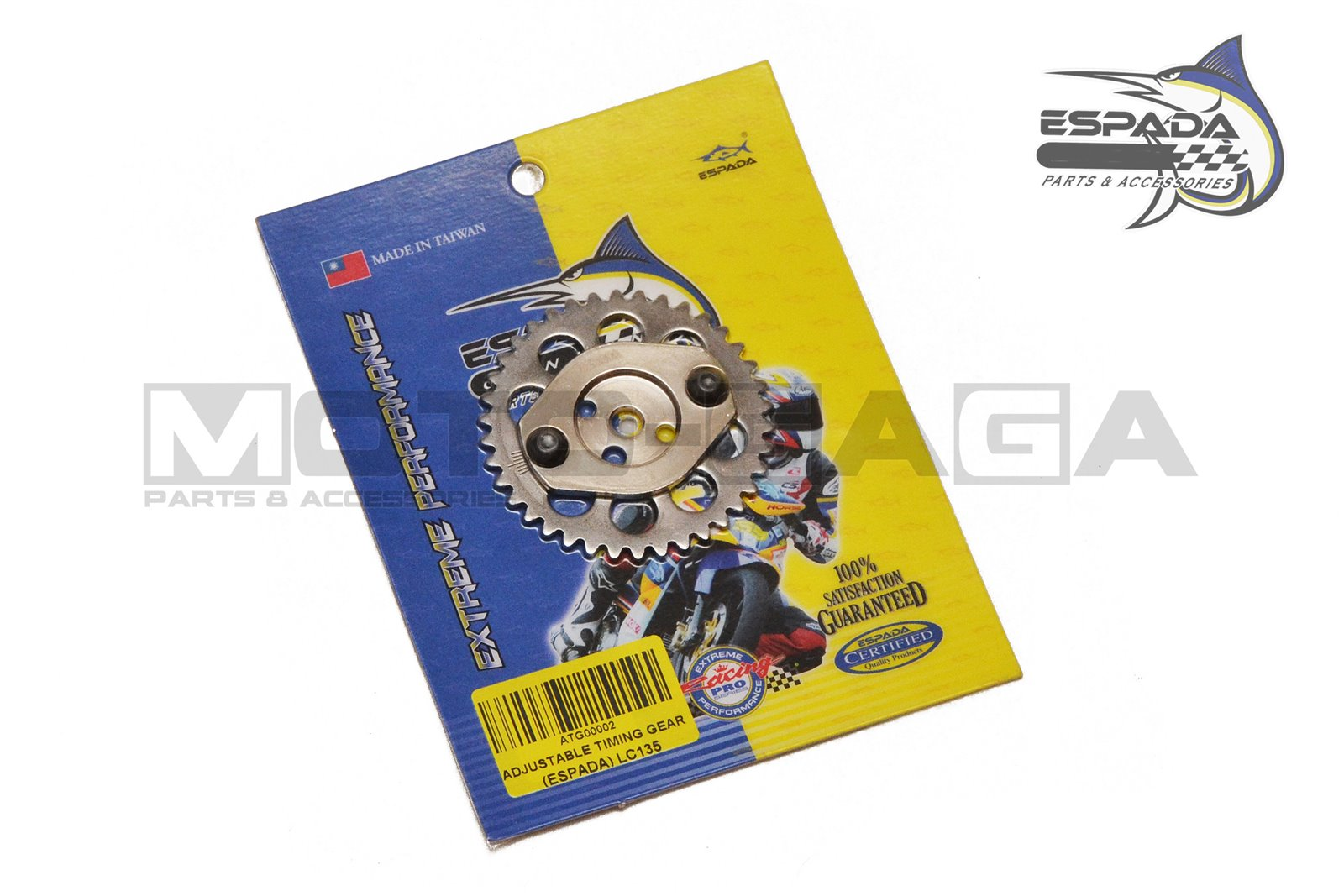 Espada Racing Adjustable Camshaft Timing Gear - Yamaha T150
