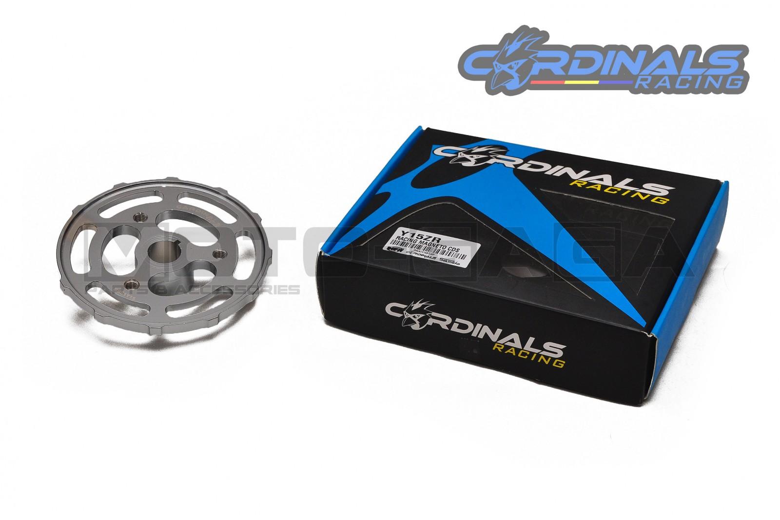 Cardinals Racing Lightweight CNC Magneto Flywheel - Yamaha T150/Fz150i Vixion