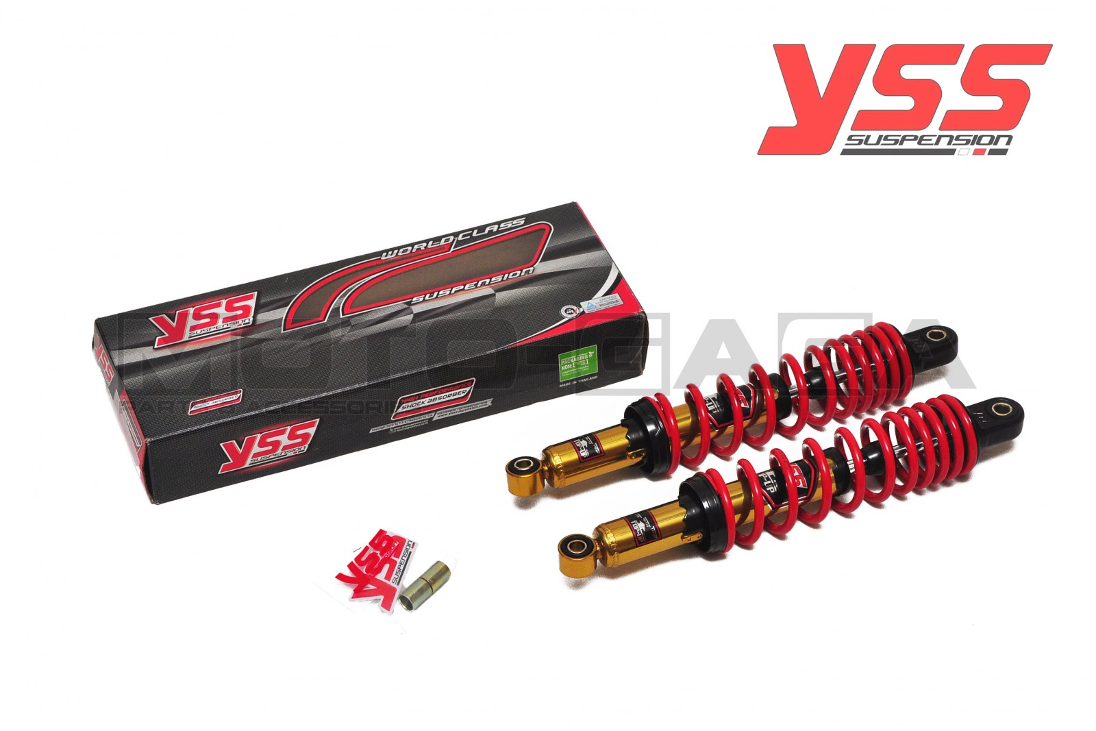 YSS TOP UP Dual Shock Absorbers (340mm) - Universal/Honda/Yamaha