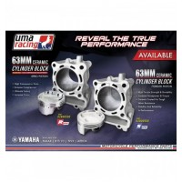 UMA Racing 63mm (183cc) Big Bore Cylinder Kit - Yamaha R15v3 VVA