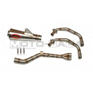 AHM GP3 Complete Exhaust System - Yamaha R25