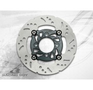Racing Boy 220mm Floating Aluminum Front Rotor (R291) - Yamaha Crypton T110/T115/T135/Z125